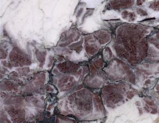 Белый и Серый мрамор Breccia Violla (Брехчия Виола)