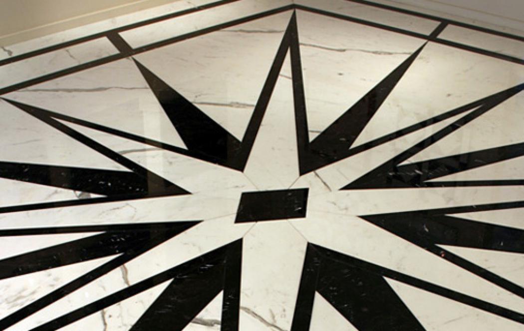 мраморные розетки - Черный мрамор BLACK PERL (БЛЕК ПЕРЛ)