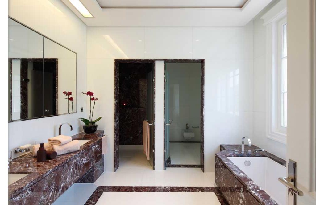 мраморные ванны - Красный мрамор Rosso Levante (Россо Леванте)