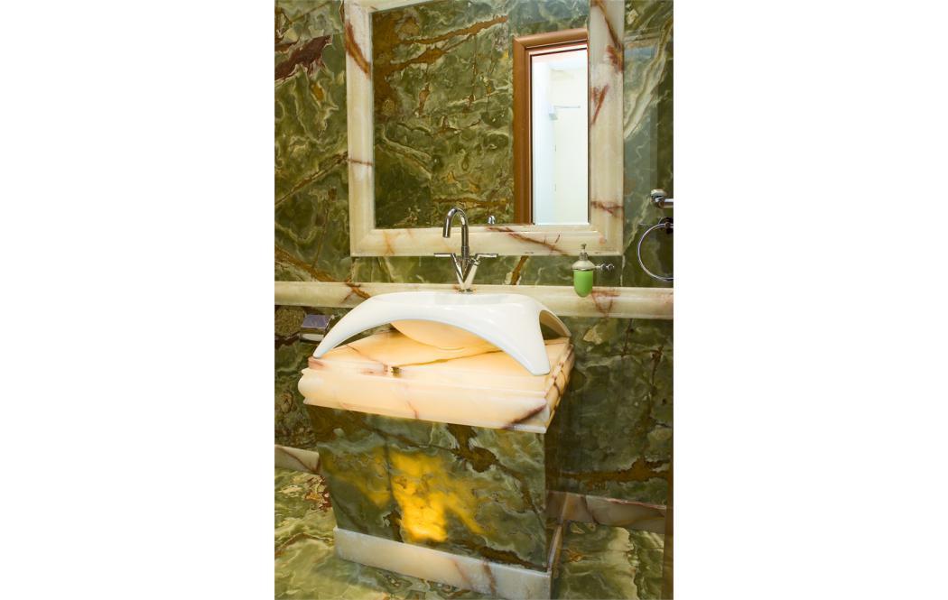 Столешница в ванную - оникс Onyx - Green (Грин - Оникс)