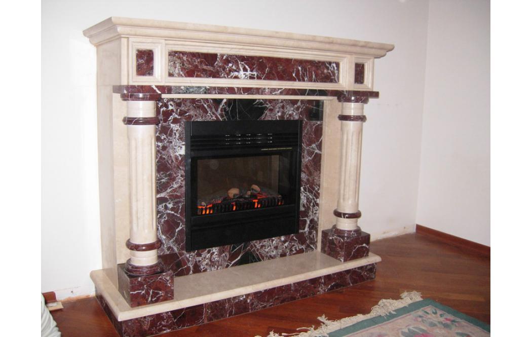 камины из мрамора цена - Красный мрамор Rosso Levante (Россо Леванте)