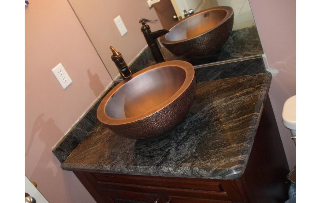столешница для ванной комнаты - гранит Paradiso (Парадисо)