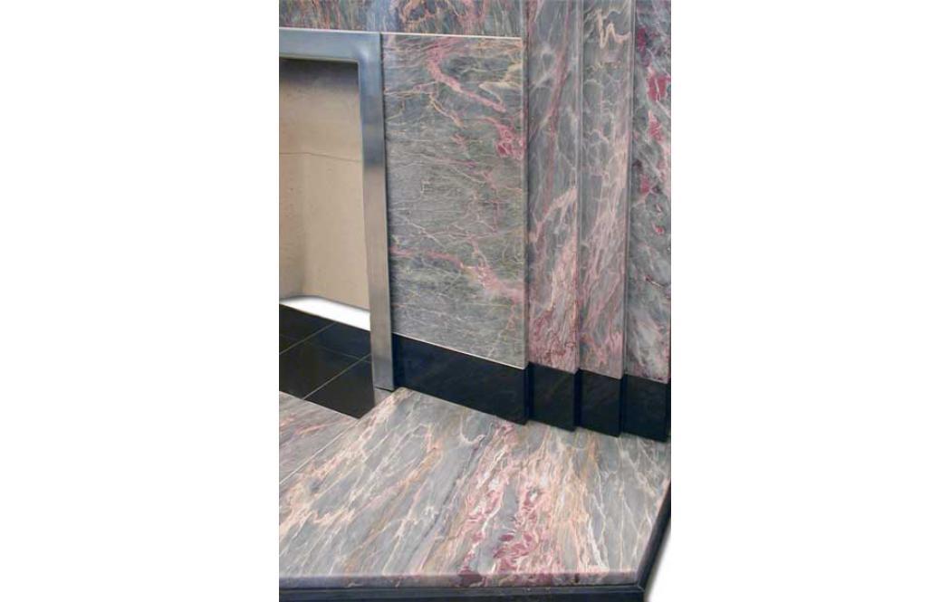 камин из мрамора цена - Красный и Серый мрамор Salome (Саломе)
