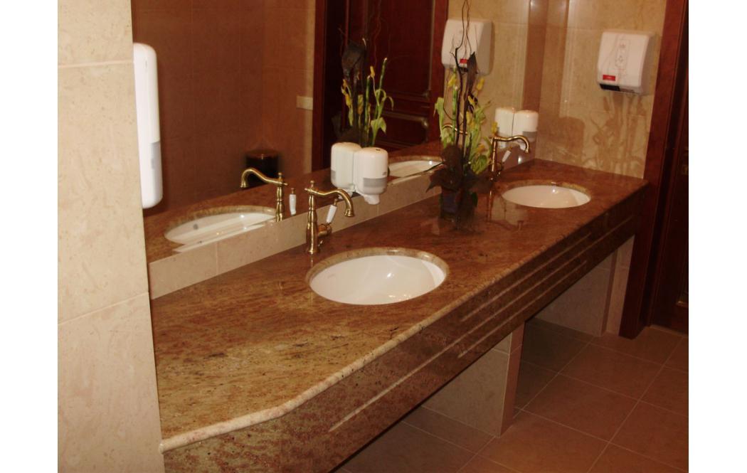 столешница для ванной на заказ - гранит Shivakashi (Шивакаши)