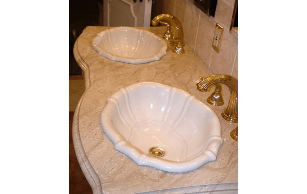 мраморные столешницы цена - Бежевый мрамор Diano Reale (Дайно Реале)