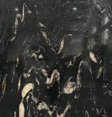 черный гранит Titanium Титаниум