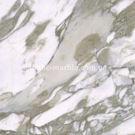Белый и Серый мрамор Calacatta Celentano (Калаката Челентано)